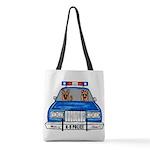 K-9 Police Polyester Tote Bag