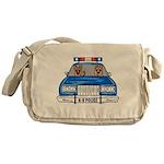 K-9 Police Messenger Bag