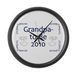 Grandpa-to-Be 2010 Large Wall Clock