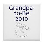 Grandpa-to-Be 2010 Tile Coaster