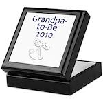 Grandpa-to-Be 2010 Keepsake Box