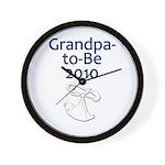 Grandpa-to-Be 2010 Wall Clock