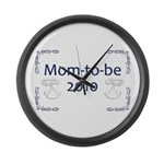 Mom-to-Be 2010 Large Wall Clock