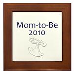 Mom-to-Be 2010 Framed Tile