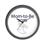 Mom-to-Be 2010 Wall Clock