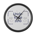 Uncle-to-Be 2010 Large Wall Clock
