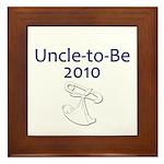 Uncle-to-Be 2010 Framed Tile