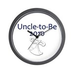 Uncle-to-Be 2010 Wall Clock