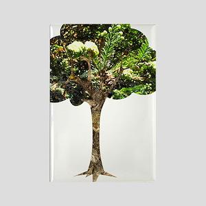 I Love Trees Rectangle Magnet