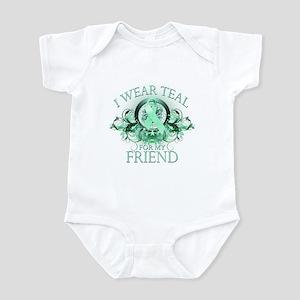 I Wear Teal for my Friend Infant Bodysuit