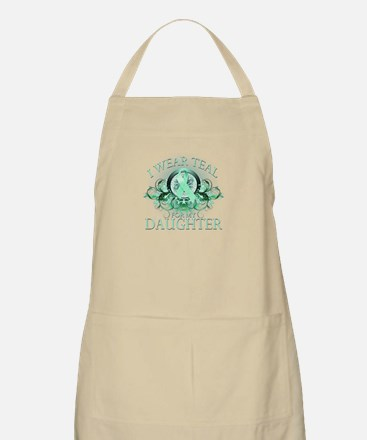 I Wear Teal for my Daughter Apron