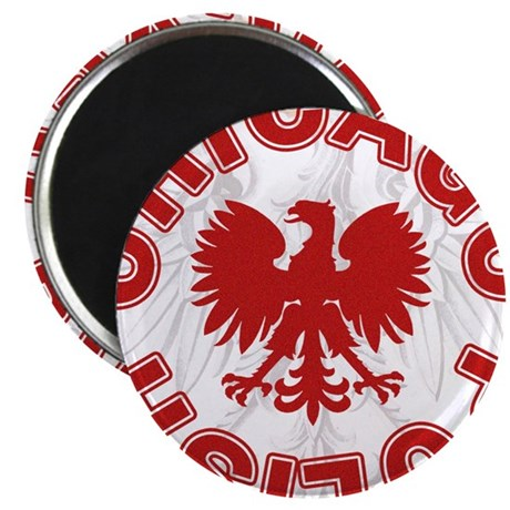 """Chicago Polish Style 2.25"""" Magnet (100 pack)"""