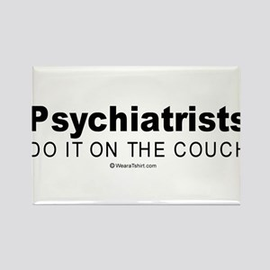 Psychiatrists do it on the couch - Rectangle Magn
