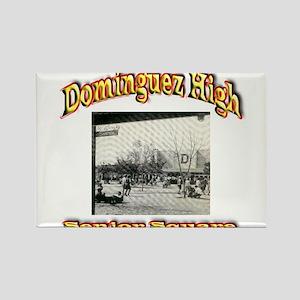 Dominguez High Senior Square Rectangle Magnet