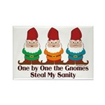 One by one the Gnomes steal my sanity Rectangle Ma