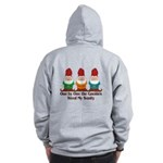 One by one the Gnomes steal my sanity Zip Hoodie