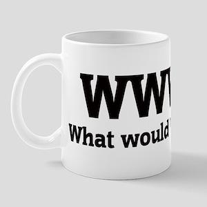 What would Warren do? Mug