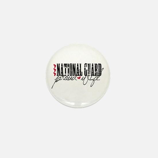 Ntl Guard - Proud Wife Mini Button