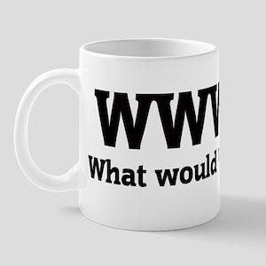 What would Wally do? Mug