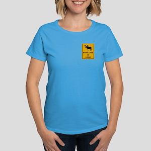 Moose Loose Women's Dark T-Shirt