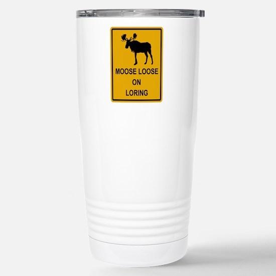 Moose Loose Stainless Steel Travel Mug