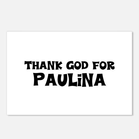 Thank God For Paulina Postcards (Package of 8)