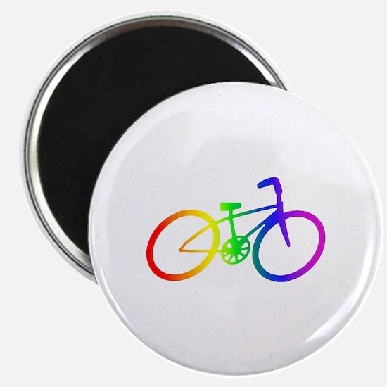 "Biking 2.25"" Magnet (10 pack)"