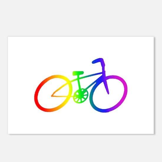 Biking Postcards (Package of 8)