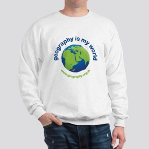 'Geography is my World' Sweatshirt