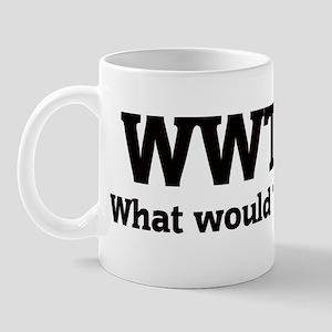 What would Trey do? Mug