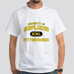 Displaced Pittsburgher White T-Shirt