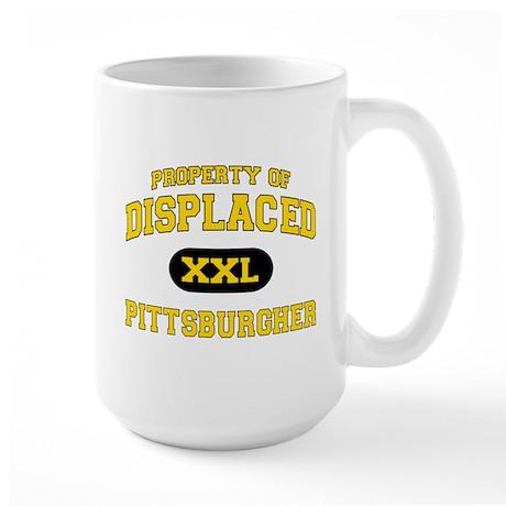 Displaced Pittsburgher Large Mug