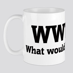 What would Travis do? Mug