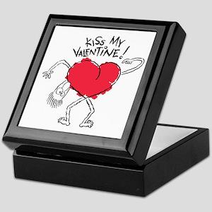 Kiss My Valentine Keepsake Box