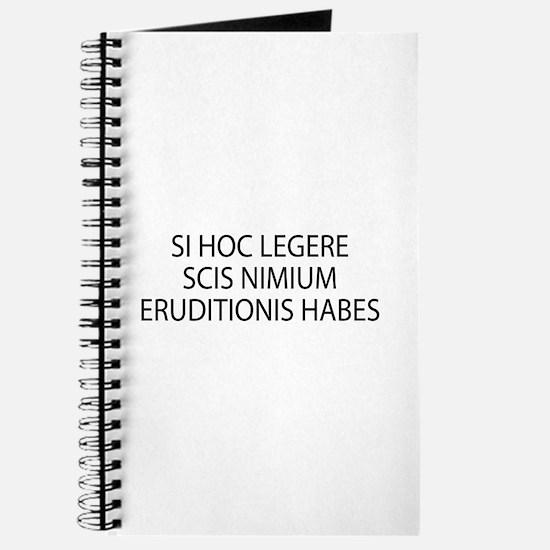 ERUDITIONIS HABES Journal