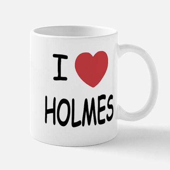 I heart Holmes Mug
