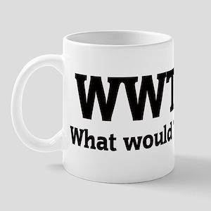 What would Tim do? Mug