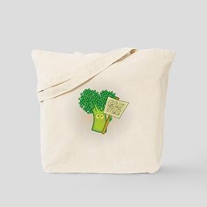 """""""Eat Me!"""" Vegetarian Tote Bag"""