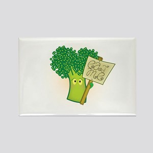 """Eat Me!"" Vegetarian Rectangle Magnet"