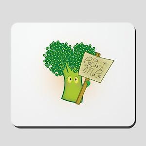 """Eat Me!"" Vegetarian Mousepad"