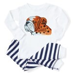 BullDog Art Pajamas