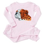 BullDog Art Pajamas