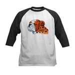 BullDog Art Baseball Jersey
