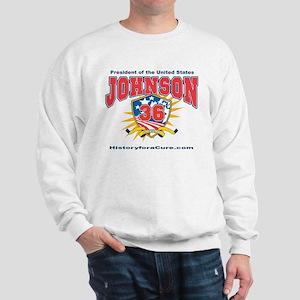 President Lyndon Johnson Sweatshirt