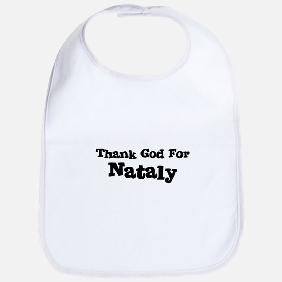 Thank God For Nataly Bib