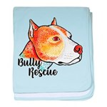 Bully Rescue baby blanket