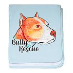 Bully Rescue baby blanket