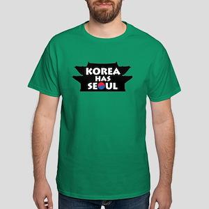 Korea Has Seoul Dark T-Shirt