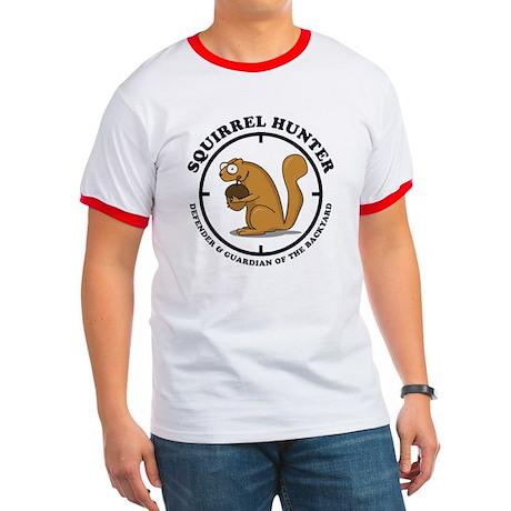 Squirrel Hunter Ringer T
