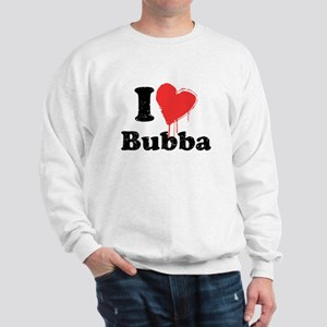 I heart bubba Sweatshirt